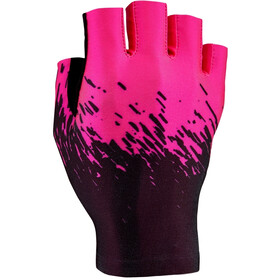 Supacaz SupaG Short Finger Gloves black/neon pink